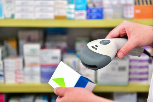Medicine can be scanned at various points along the supply chain to determine its authenticity