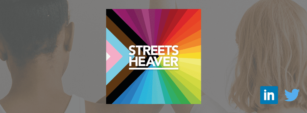 Streets Heaver New Pride Month Logo
